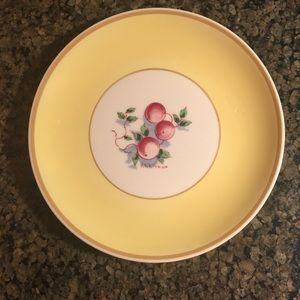 Syracuse China plate. Peaches 🍑
